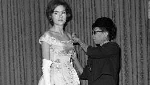 L'histoire inédite de la créatrice noire derrière la robe de mariée de Jackie Kennedy