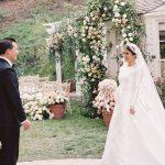 Maison de Bijan Scion Nicolas Bijan et Roxy Sowlaty ont organisé un élégant mariage dans la cour