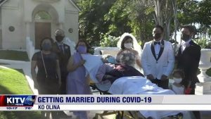 Un couple d'Ewa Beach organise un mariage au volant pour se conformer aux restrictions COVID – Honolulu, Hawaii News, Sports & Weather