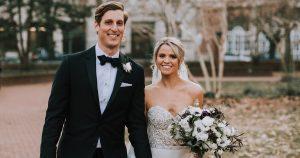 Un mariage à l'hôtel Four Seasons de Philadelphie rempli de joie des Fêtes