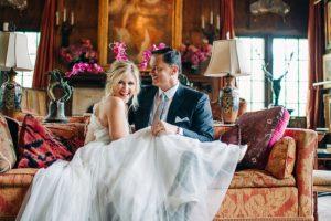 Un mariage magique dans les jardins de Chickasaw