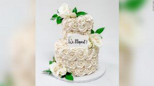 Chérie, la pandémie a réduit notre gâteau de mariage