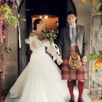 Comment cette mariée a planifié son propre micro-mariage dans les Highlands écossais