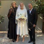 De nouvelles photos émergent du récent mariage de Josephine Perry avec Michael Clift