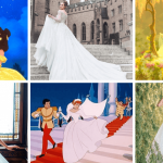 Robes de mariée Real Life vs Disney Princess Movie