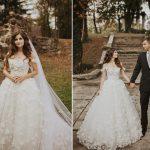 Une mariée a trouvé une robe de mariée qui ressemblait à la robe de rêve qu'elle avait esquissée avant de magasiner