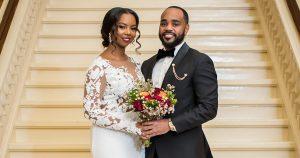 Comment le mariage d'un couple à Philadelphie a honoré le Mois de l'histoire des Noirs