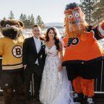 Le mariage au lac Tahoe obtient du grain grâce à la LNH