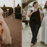 Pretty Pear Bride est une source d'inspiration pour les mariées de grande taille