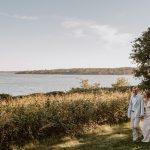 Un couple a réinventé son mariage annulé en tant que Clambake classique