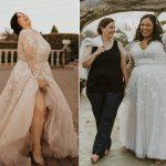 Une femme a fondé un magazine qui fournit une inspiration de mariage pour les mariées de grande taille
