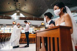 Voici comment nous nous sommes mariés avec 100 invités dans le cadre des restrictions COVID-19 de Singapour