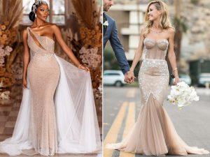 16 fois les mariées étaient superbes dans des robes de mariée audacieuses