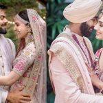 De Anushka Sharma à Jaspreet Bumrah, des photos de mariage de célébrités qui se ressemblent