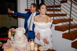 Johnathan Schnitzer et Lily Morris se marient à San Clemente