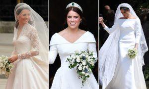 Kate Middleton, Meghan Markle et d'autres histoires de robes de mariée royales racontées par des designers