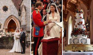 Les couleurs du mariage royal révélées: Kate Middleton et le prince William, Meghan Markle et le prince Harry, plus