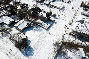 Les mariages ont continué malgré la tempête hivernale du Texas