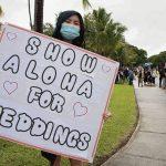 Les nouvelles directives d'Oahu permettent à 100 personnes d'assister à des mariages en plein air