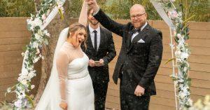 Malgré la tempête hivernale du Texas, les mariages se sont poursuivis
