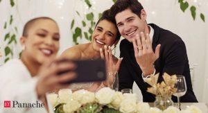 Réceptions d'anniversaire, statut vacciné et célébration somptueuse: c'est l'année de l'after-party de mariage