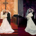 Un couple recrée des photos de mariage exactement 50 ans plus tard dans la même église