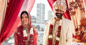 Un mariage intime et double cérémonie à la maison à San Francisco