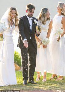La célibataire Elise Stacy épouse Justin Kosmina lors d'un superbe mariage à Palm Beach