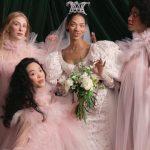 """Les 12 principales tendances de la mariée pour le printemps 2022 incluent l'inspiration """" Bridgerton """" et les robes de sieste de mariage"""