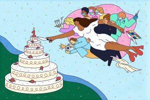 Les couples mariés en '20 optent pour '21 after-parties