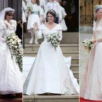 Les prix des robes de mariée royales révélés: Meghan Markle, Kate Middleton, la princesse Eugénie, plus