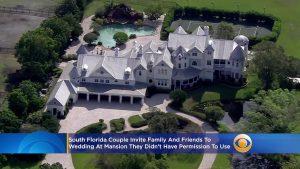 Mariée du sud de la Floride, Marié Crashers à son propre mariage au manoir de Fort Lauderdale – CBS Miami