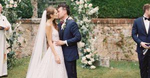 Un mariage romantique et italien à la Villa Cetinale en Toscane