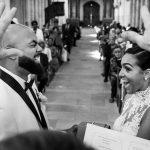 Capturer des moments de la photographie de mariage à l'aide de gaufres