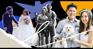 Comment les couples américains d'origine asiatique honorent leurs origines culturelles dans les mariages modernes
