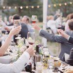 Idées de toasts de mariage courts et sucrés