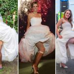 La mariée de New York est 5e à porter la robe de mariée de Sara Blakeley, PDG de Spanx