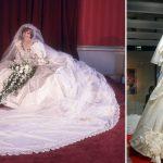 La robe de mariée de la princesse Diana sera exposée
