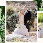 Le mariage glamour de Barbie Blank et Joseph Coba
