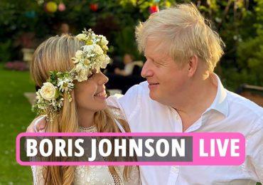 Le premier ministre et Carrie Symonds retardent leur lune de miel alors que le couple est félicité pour s'être marié