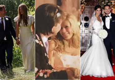 Les belles photos de mariage de Kate Garraway, Piers Morgan et d'autres stars de GMB