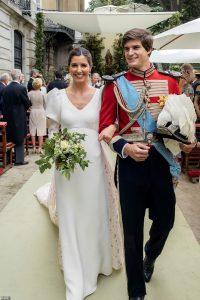 Photos du mariage de la société espagnole entre Belén Corsini et le comte d'Osorno